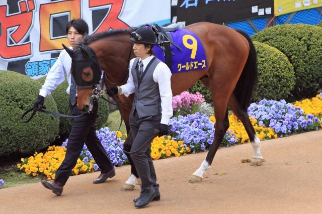 2012年4月15日 皐月賞 ワールドエース